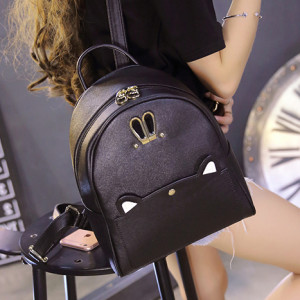 Trendy Lifestyle Cat Design C410 Back Bag