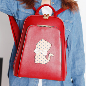 Elegant Cat Design Lifestyle C301 Backpack