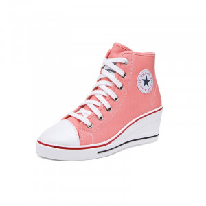Beauty Zipper Wedges Sneakers