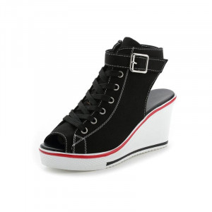 KRN Stylish Lifestyle Wedges Sneakers